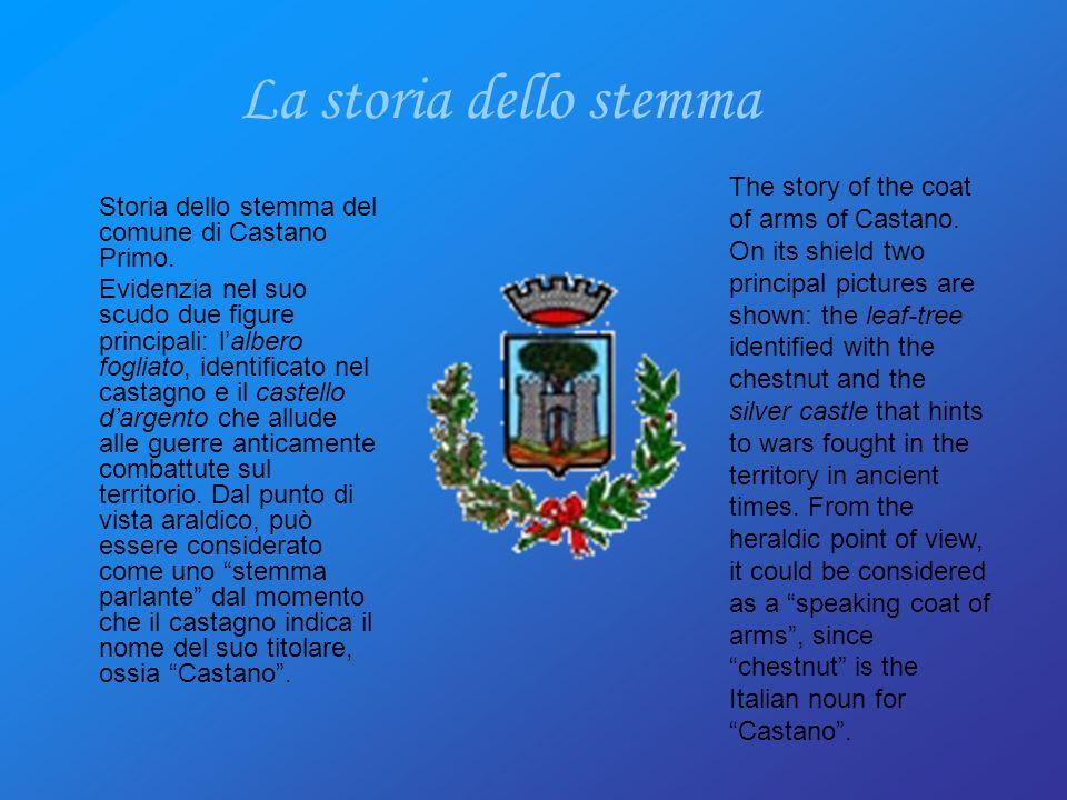 Storia dello stemma del comune di Castano Primo.