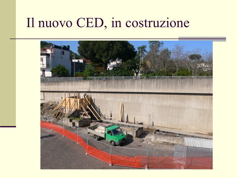 Il nuovo CED, in costruzione