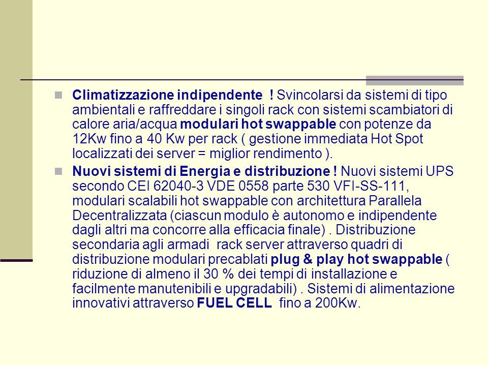Climatizzazione indipendente .