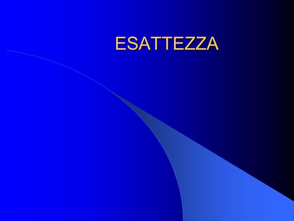 ESATTEZZA