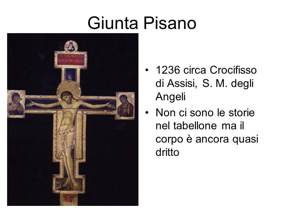 Giunta Pisano 1236 circa Crocifisso di Assisi, S.M.