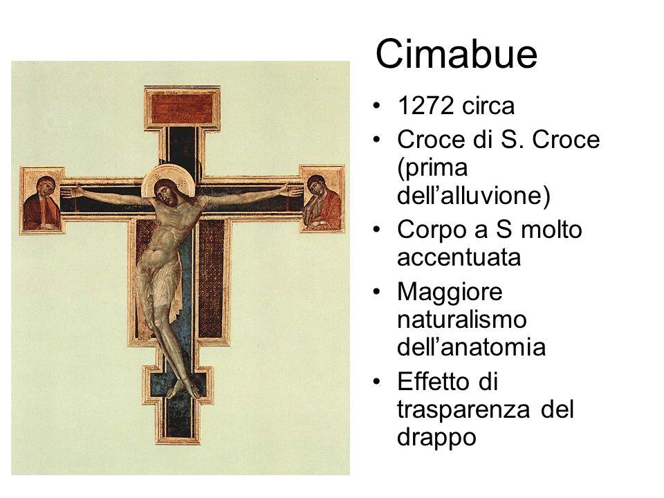 Cimabue 1272 circa Croce di S.