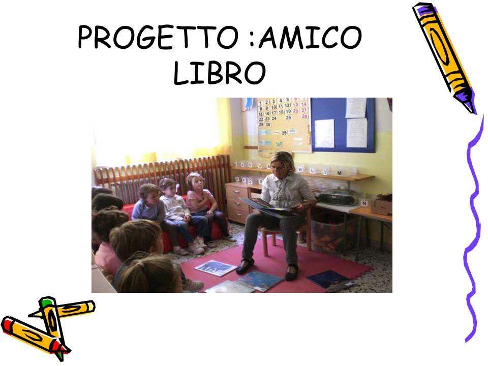 PROGETTO :AMICO LIBRO