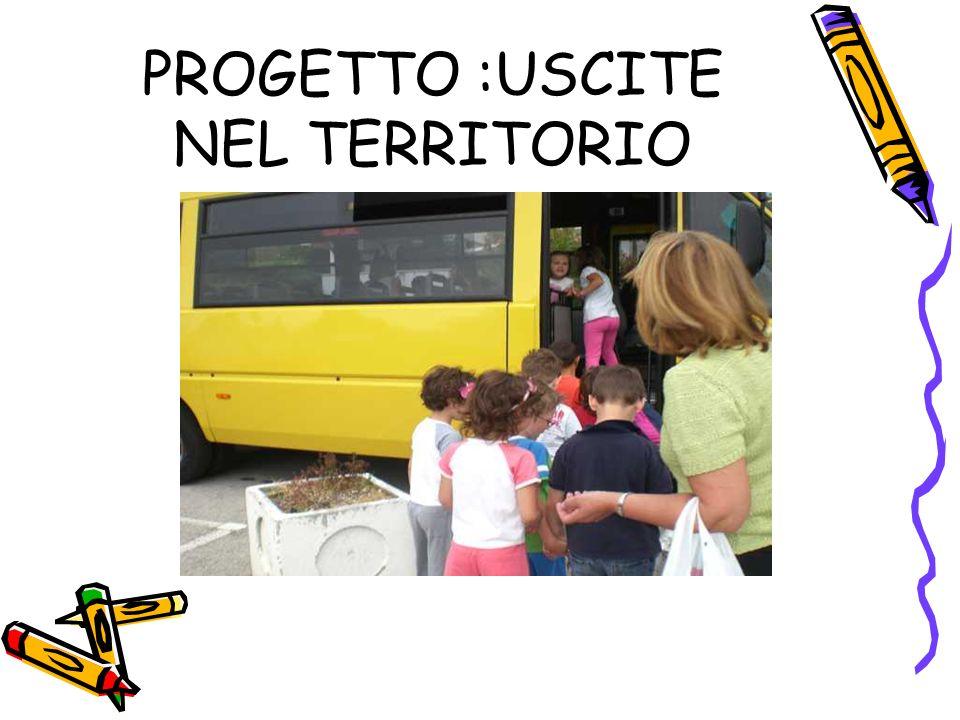 PROGETTO :USCITE NEL TERRITORIO