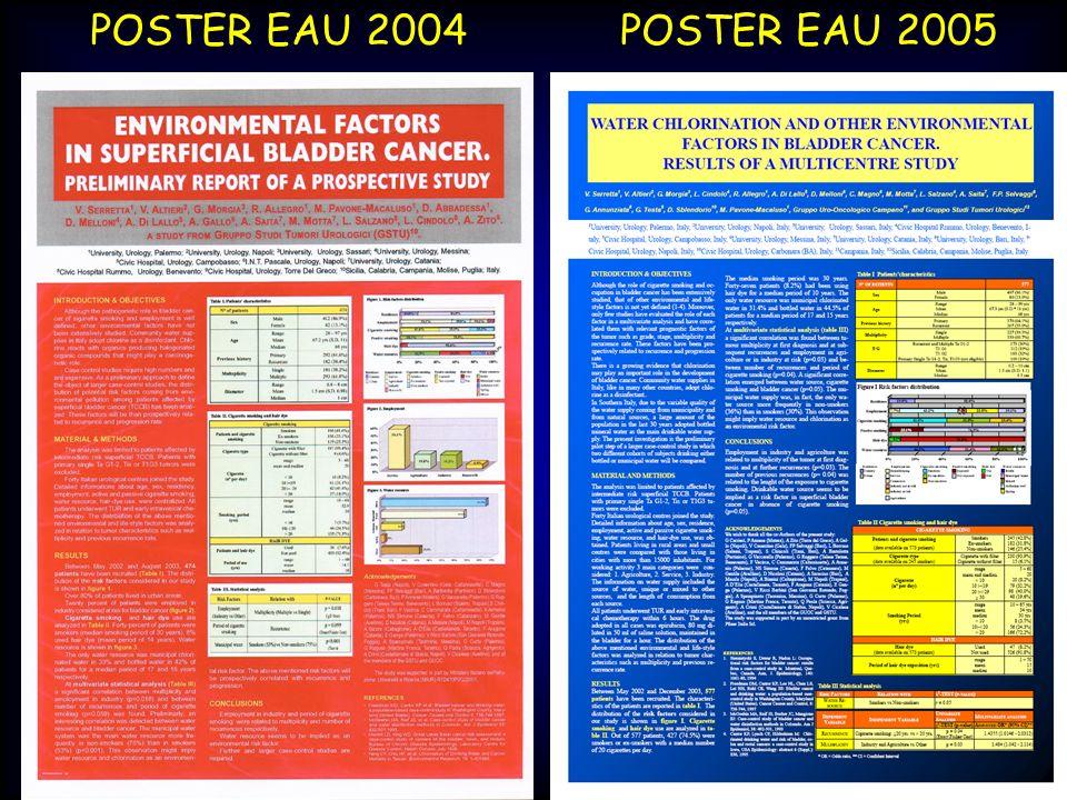 POSTER EAU 2004POSTER EAU 2005
