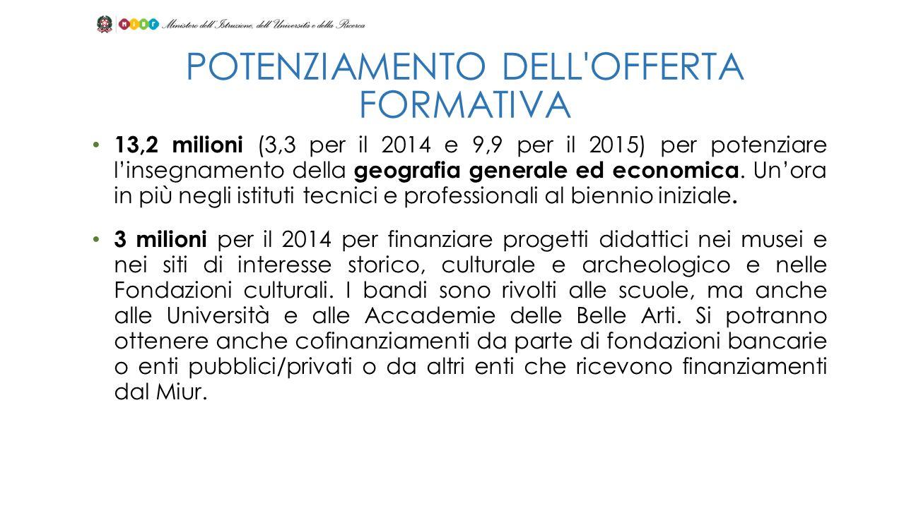 Detrazioni fiscali al 19% anche per le donazioni a favore di università e istituzioni di Alta formazione artistica.