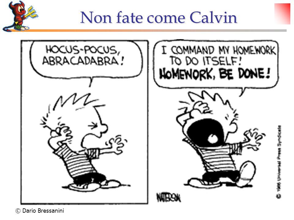 Non fate come Calvin