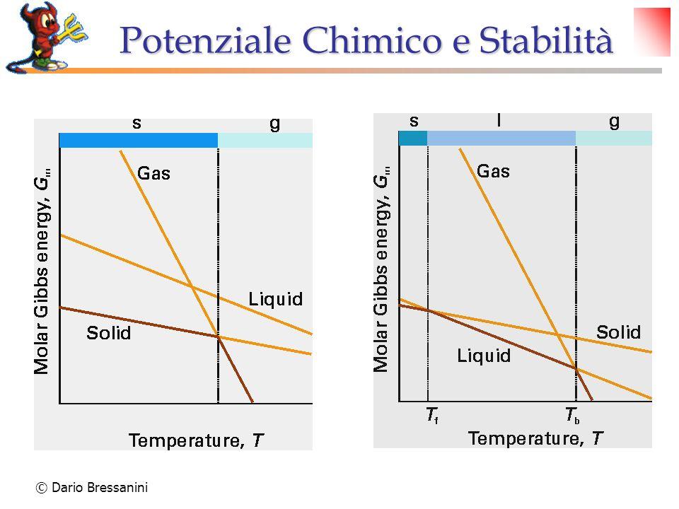 © Dario Bressanini Punto Critico Al punto critico Liquido e Gas sono indistinguibili