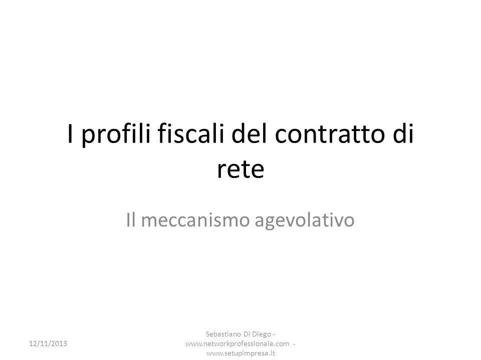 Lagevolazione (1) L art.42 co.