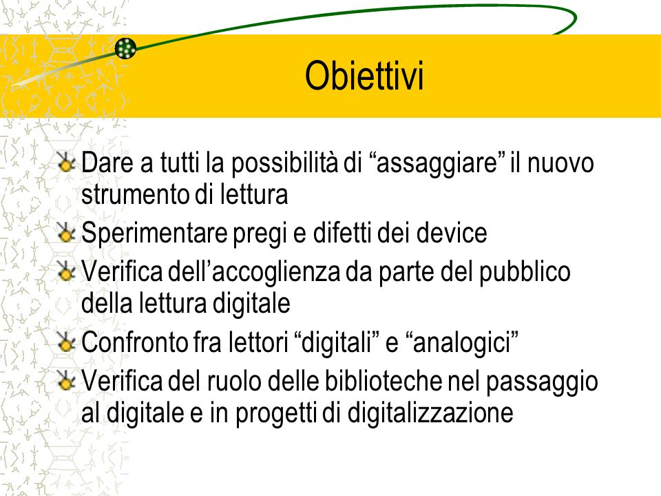 Per ulteriori informazioni www.biblioteca.colognomonzese.mi.it chiediloanoichiediloanoi@comune.colognomonzese.mi.it Gruppo di lavoro: Gianluca Cattaneo: gcattaneo@comune.colognomonzese.mi.itgcattaneo Annalisa Cichella: acichella@comune.colognomonzese.mi.itacichella Marilena Cortesini: mcortesini@comune.colognomonzese.mi.itmcortesini Luciana Cumino: lcumino@comune.colognomonzese.mi.itlcumino@comune.