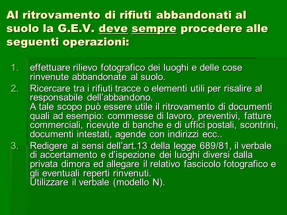 Limportanza dei rilievi fotografici per laccertamento degli illeciti amministrativi e penali.