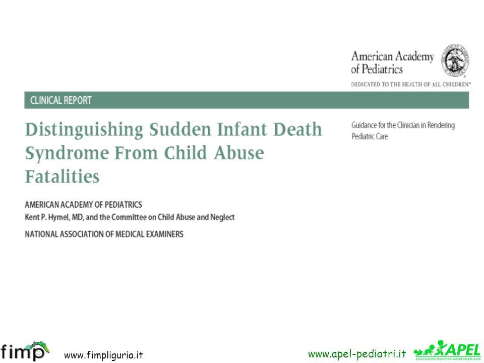www.fimpliguria.it www.apel-pediatri.it Molti giorni dopo, quando ormai la bambina aveva ripreso appieno il suo stato di salute, durante una valutazio