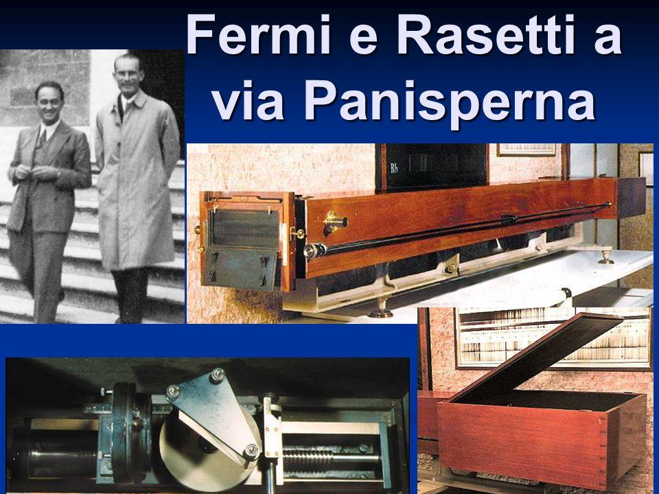 Fermi e Rasetti a via Panisperna