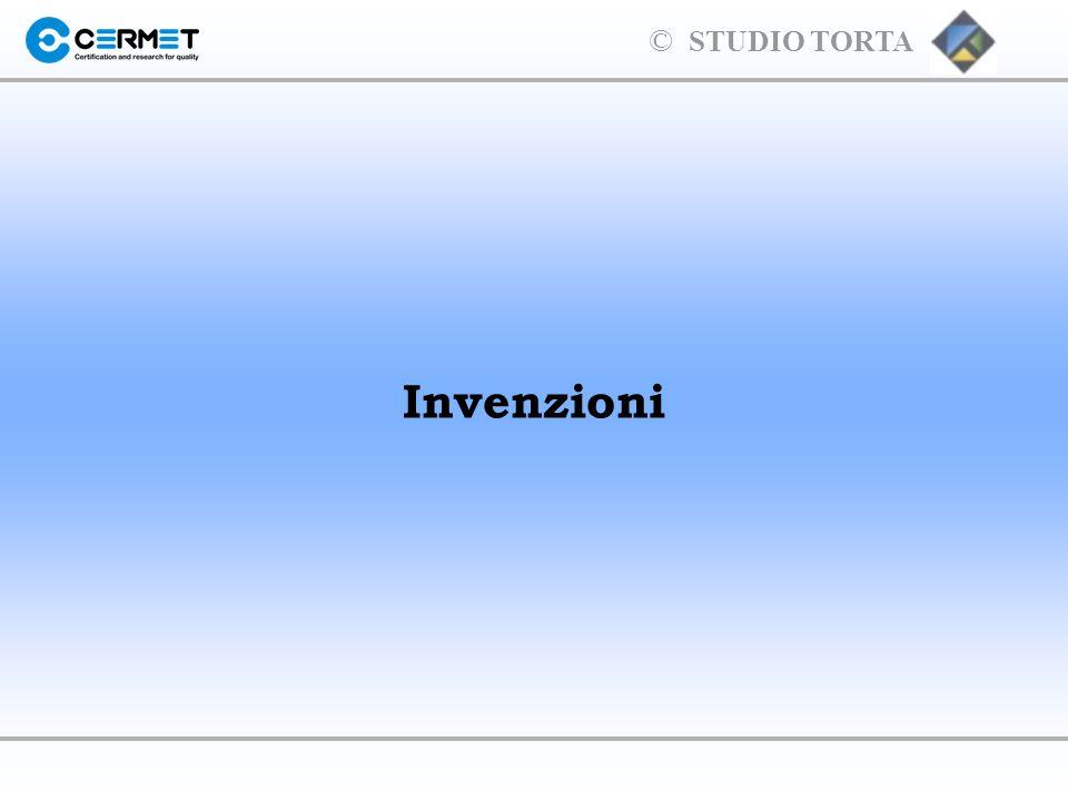 © STUDIO TORTA Normative sui brevetti per Invenzione l Normativa italiana D.Lgs.