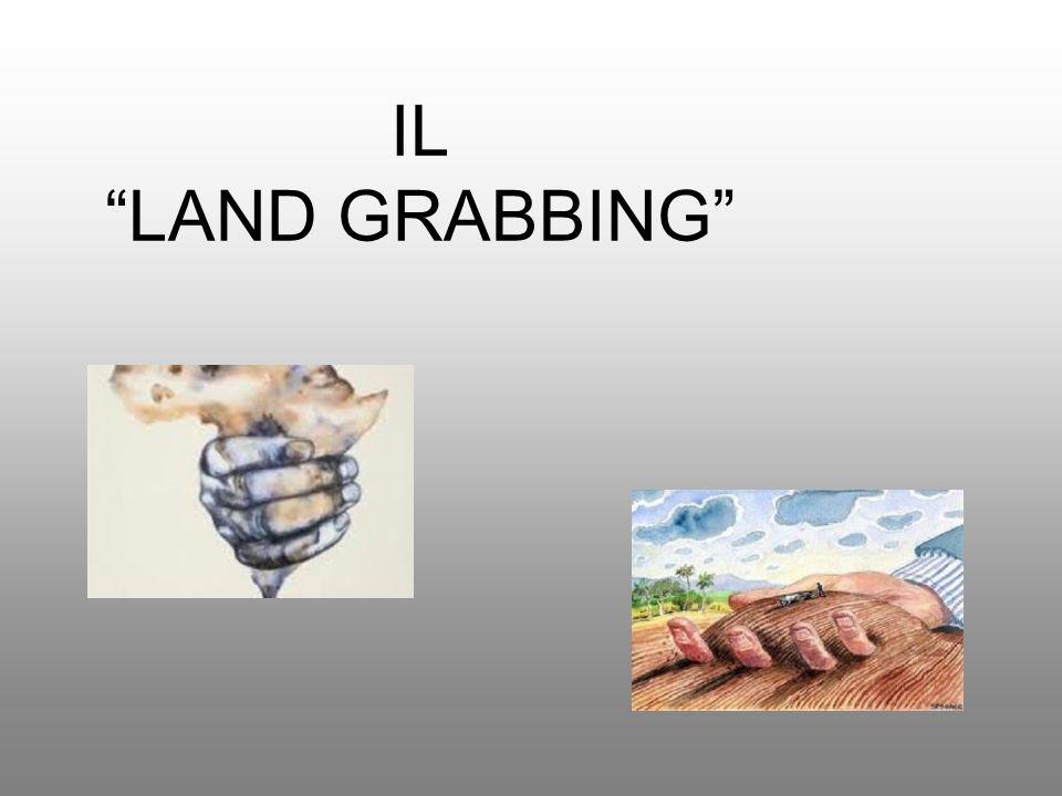 Il termine Land Grabbing tecnicamente significa appropriazione di terreni: consiste nellaffitto o acquisto di grandi appezzamenti di terreni in Africa e, in forma minore, in Sud America da parte dei cosiddetti Paesi Emergenti.