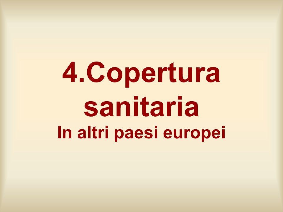 4.Copertura sanitaria In altri paesi europei