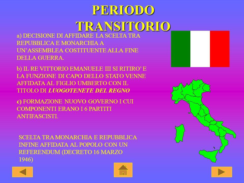 REPUBBLICA DI SALO E IL REGNO DEL SUD ITALIA SETTENTRIONALE ITALIA MERIDIONALE REPUBBLICA SOCIALE ITALIANA (CHIAMATA ANCHE, DALLE CITTA IN CUI AVEVA S