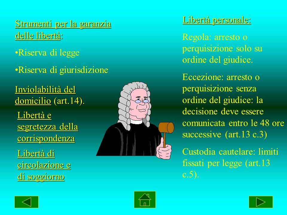 Costituzione Italiana Diritti e doveri dei cittadini I due principi fondamentali: Diritti di libertà (art.2 cost) come singoli e nelle formazioni soci