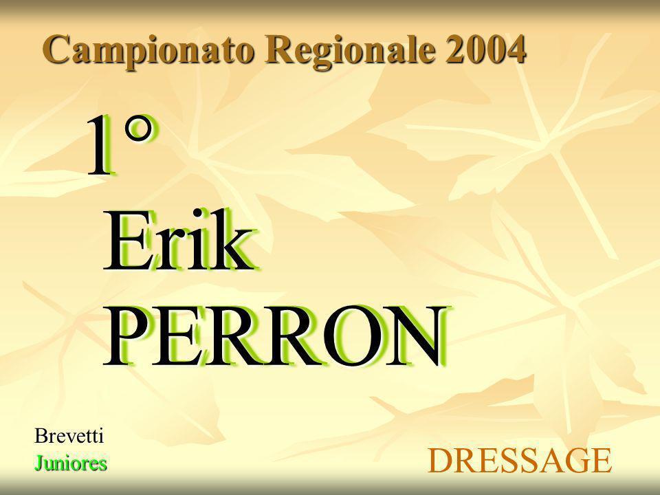 Campionato Regionale 2004 1° grado Young Riders 1° Yara DAUDRY SALTO OSTACOLI