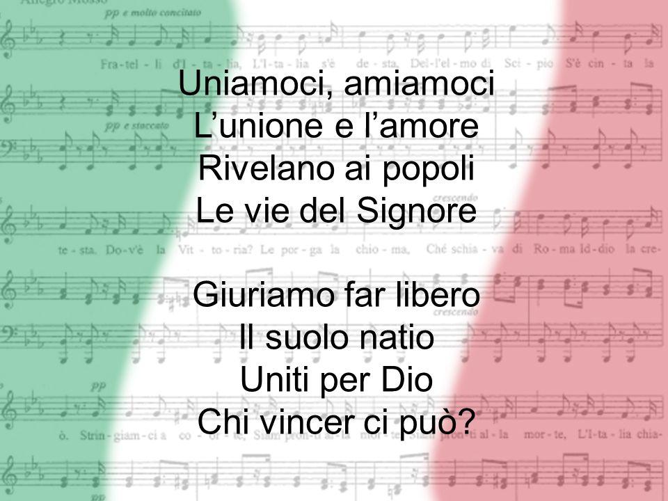 DallAlpe a Sicilia Dovunque è Legnano Ognuomo di Ferruccio Ha il cuore e ha la mano I bimbi dItalia Si chiaman Balilla Il suon dogni squilla I vespri suonò