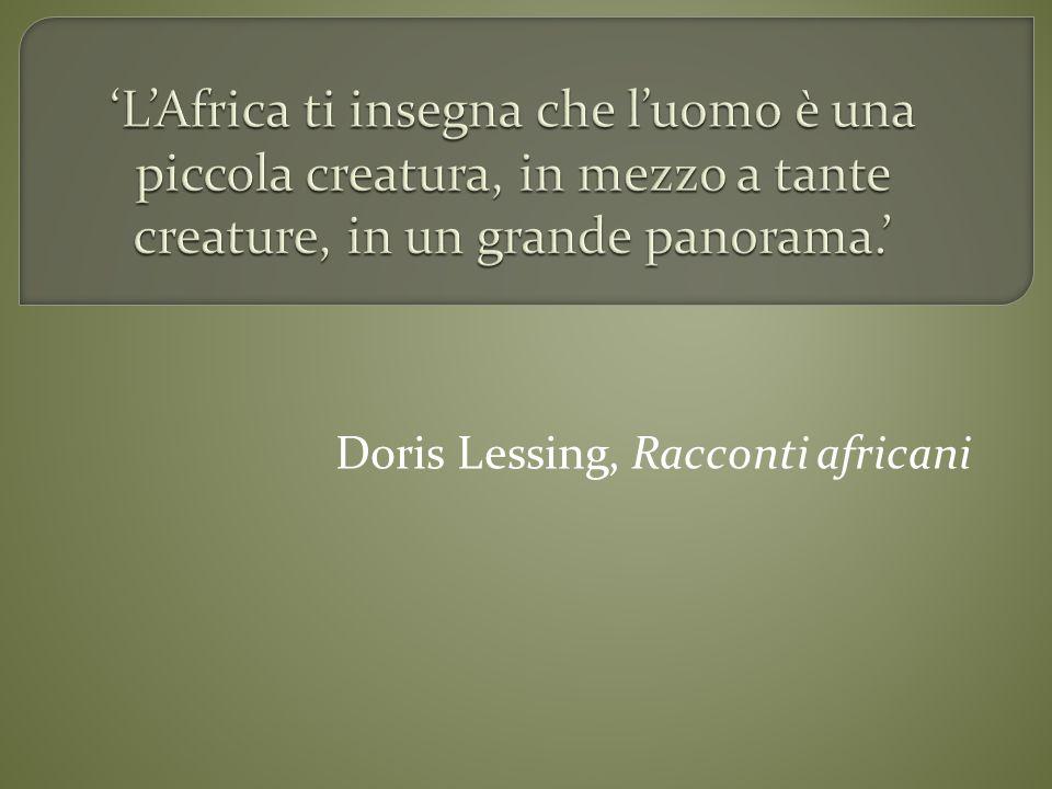 Doris Lessing, Racconti africani