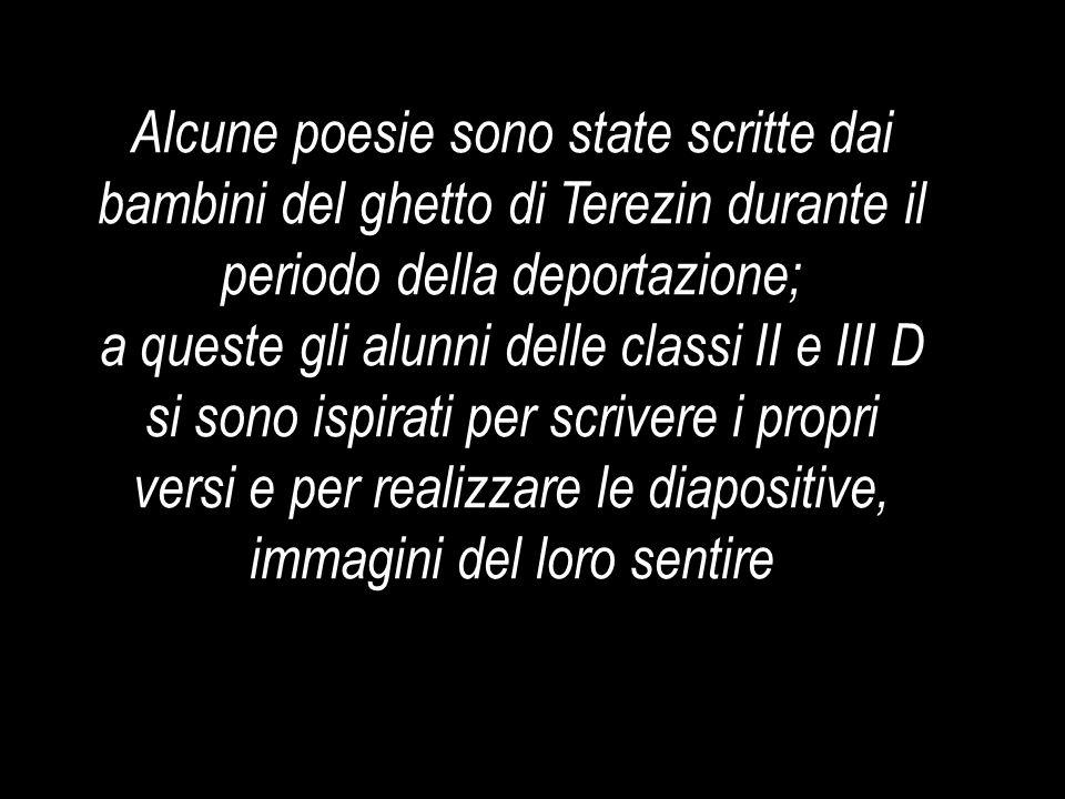 Tristezza, buio e dolore Da quel cancello, si entra solo Gianluigi Dagnese III D