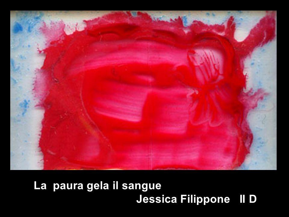 la La paura gela il sangue Jessica Filippone II D