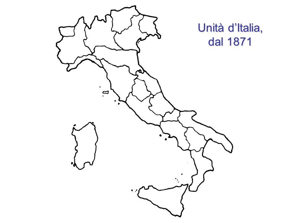 Unità dItalia, dal 1871