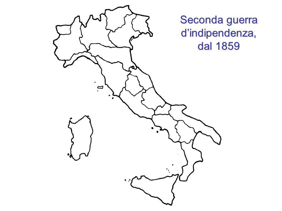 Seconda guerra dindipendenza, dal 1859