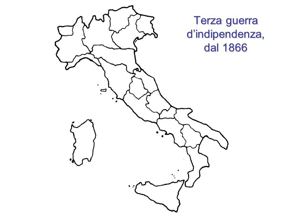 Terza guerra dindipendenza, dal 1866