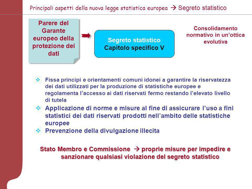 Proposta di Programma Quadro 5 anni CE (Eurostat) Parlamento Europeo, Consiglio Domanda di statistiche europee Programma Statistico quinquennale (t1 –