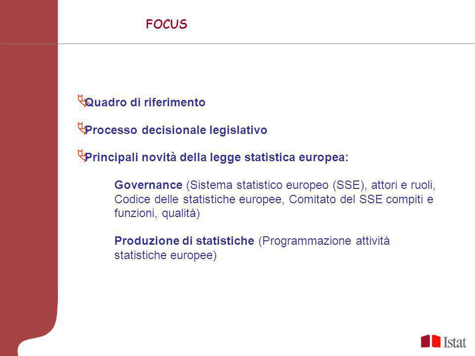 La nuova legge statistica europea Marina Gandolfo gandolfo@istat.it ISTAT - Direzione centrale Relazioni istituzionali e coordinamento e sviluppo del