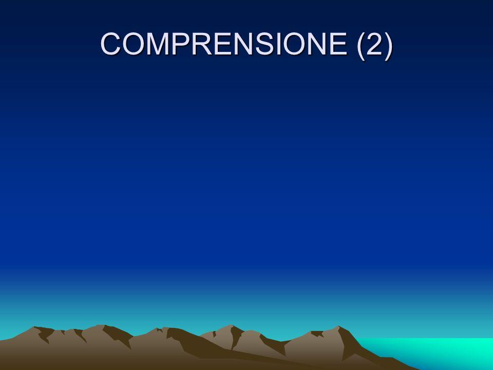COMPRENSIONE (2)