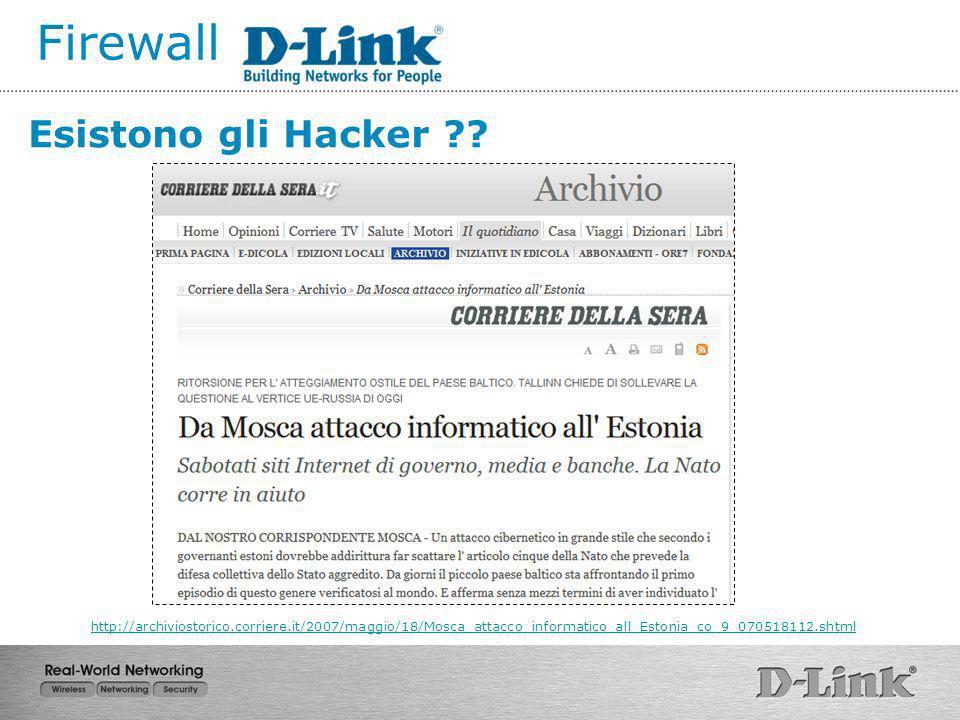 Firewall Aspetti legali …..D.P.S.