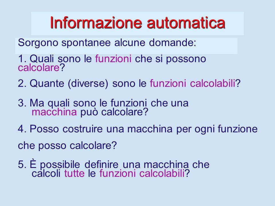 Un esempio: la calcolatrice La calcolatrice - - ha 10 tasti per specificare i dati (cifre). - - 4 tasti per specificare le operazioni (funzioni) da ca