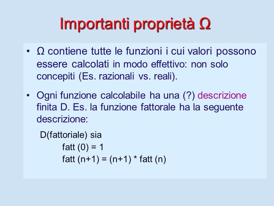 Algoritmo Sequenza anche infinita di azioni, che descrive un modo per calcolare la funzione (calcolabile). Le azioni sono ordinate Le azioni e la loro
