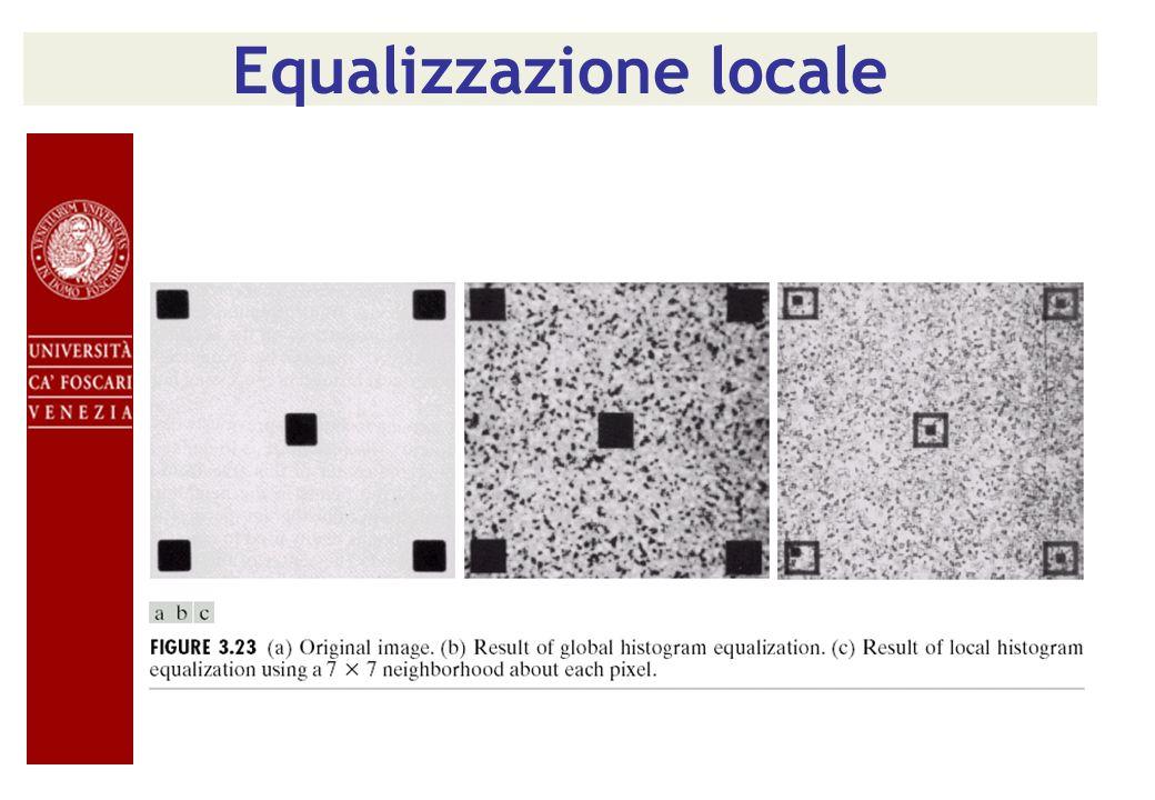 Equalizzazione locale