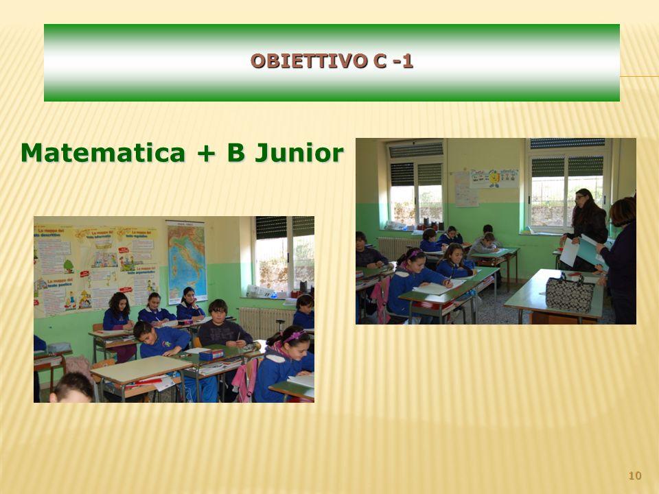 10 OBIETTIVO C -1 Matematica + B Junior