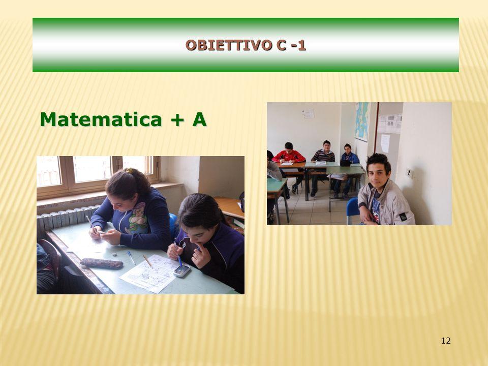 12 OBIETTIVO C -1 Matematica + A