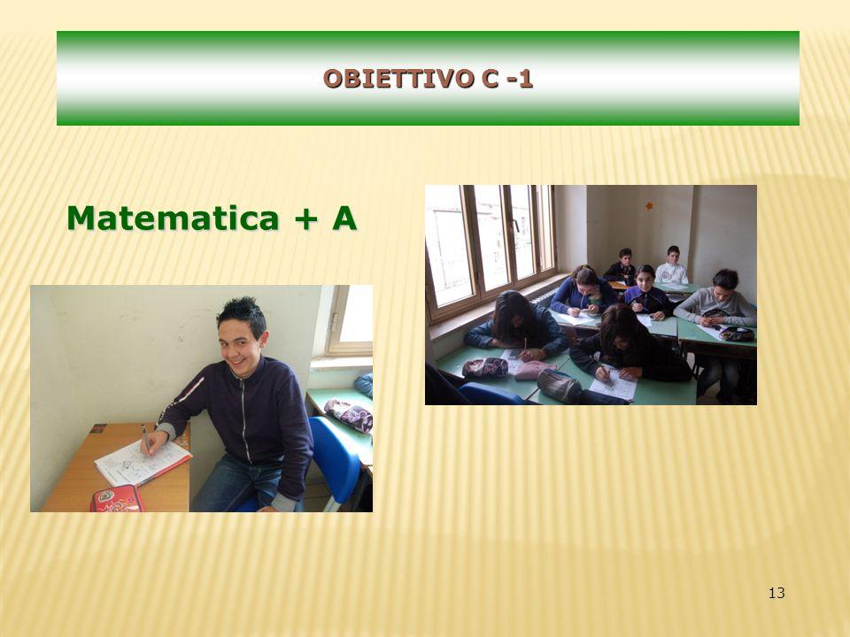 13 OBIETTIVO C -1 Matematica + A