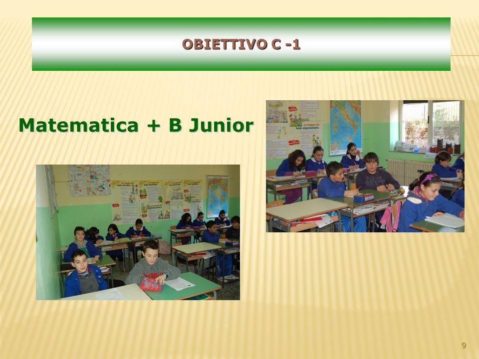9 OBIETTIVO C -1 Matematica + B Junior