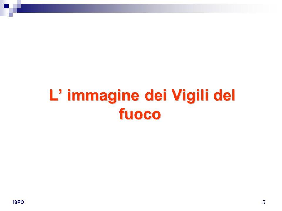 ISPO16 Risultano essere più informati delle varie attività svolta dai VV.F.