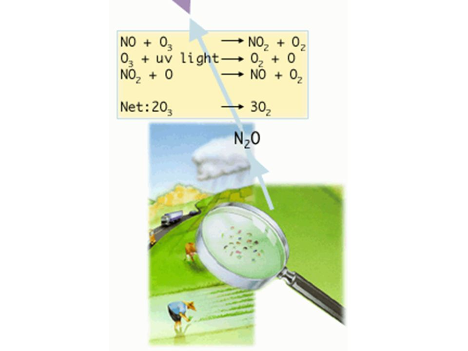 N.B.il cloro non si consuma a seguito della reazione complessiva, quindi ha un ruolo catalitico