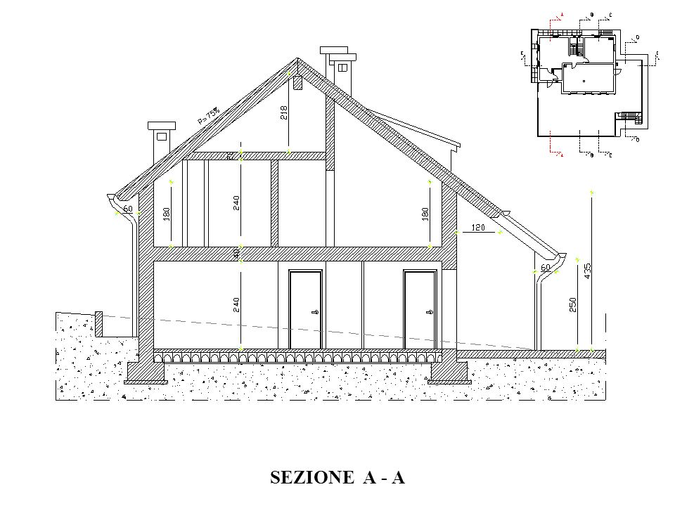 SEZIONE A - A