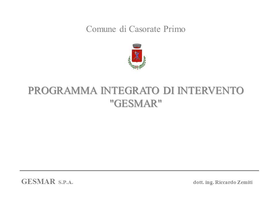 PROGRAMMA INTEGRATO DI INTERVENTO