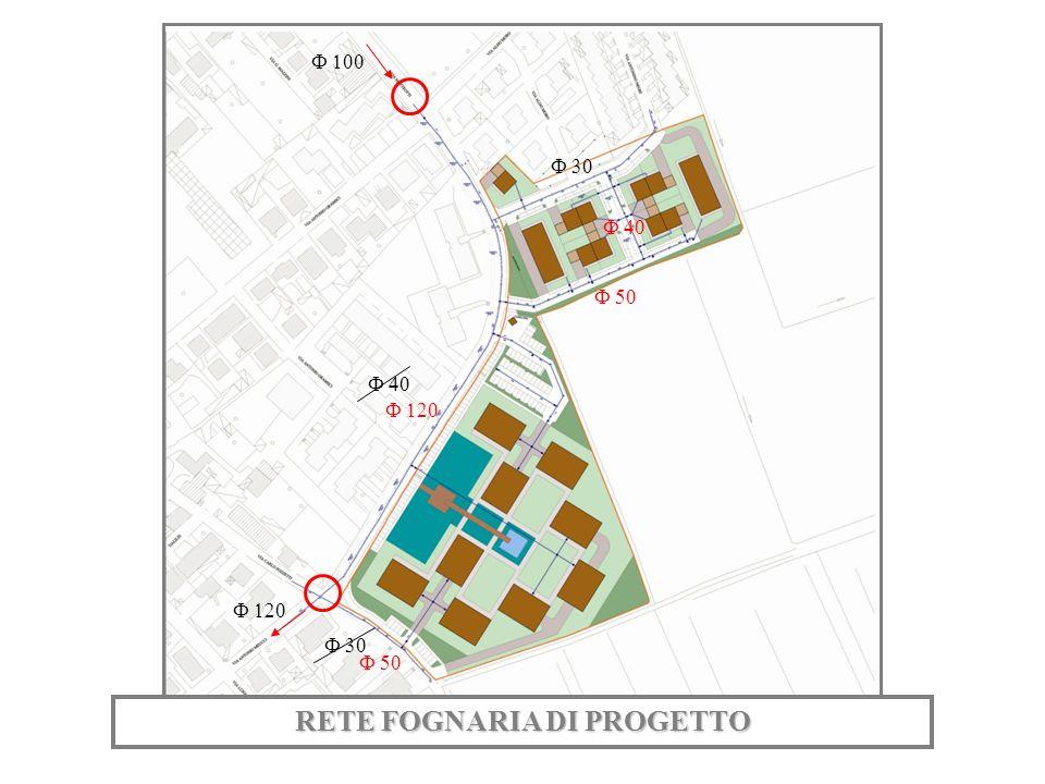 RETE FOGNARIA DI PROGETTO