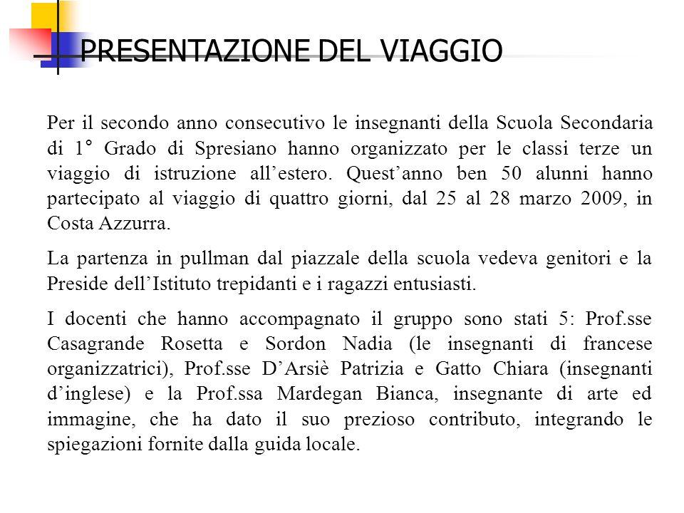 Per il secondo anno consecutivo le insegnanti della Scuola Secondaria di 1° Grado di Spresiano hanno organizzato per le classi terze un viaggio di ist
