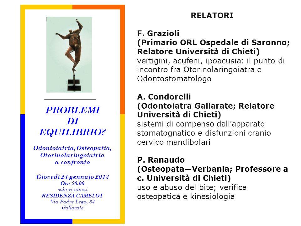 Unità Operativa di Otorinolaringoiatria Ospedale di Saronno Direttore: Dott.