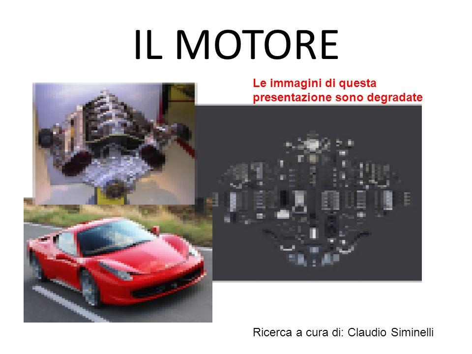 IL MOTORE Ricerca a cura di: Claudio Siminelli Le immagini di questa presentazione sono degradate