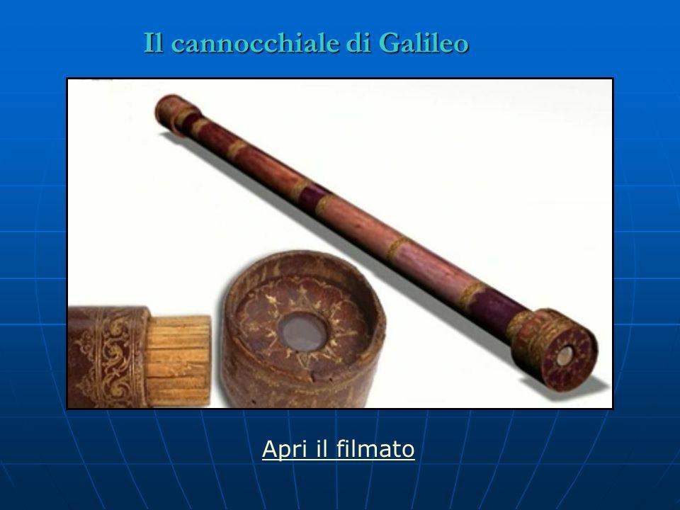 Il cannocchiale di Galileo Apri il filmato
